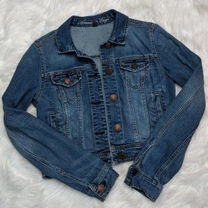 American Eagle Outfitters denim jean jacket size S